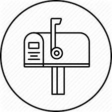 closed mailbox. Address, Closed, Inbox, Mail, Mailbox Icon Closed M