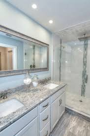 Dallas Bathroom Remodeling Adorable Transitional 48848 Bathroom With Dallas White Granite Frameless