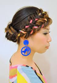 個性的前髪フィッシュボーン ダンスパフォーマンス用のヘアスタイル