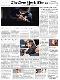 The New York Times February 11 2017 United States Government.