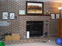 Brick Fireplace Remodel Ideas Easy Brick Fireplace Makeover Ideas