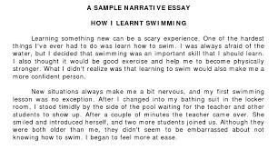writing a narrative essay examples com writing a narrative essay examples