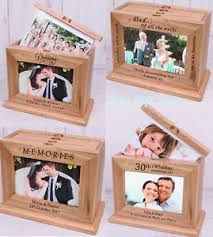 Personalised Wooden Photo Album Unusual Gift Ideas For Wedding