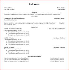 Current College Student Resume Unique Sample Current College Student Resume Job Latter