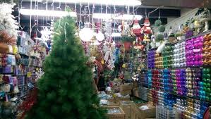 Christmas Decorations on sale in Arab Street