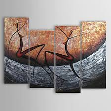 Oil Painting For Living Room 2017 Hand Painted Oil Painting Set Modern Abstract Picture