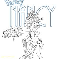 superior fancy nancy printable coloring pages with free
