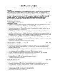 Free Sample Executive Assistant Resume Templates Save Executive