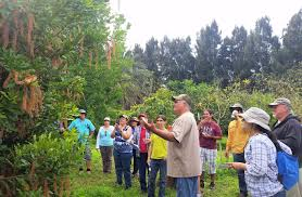 last year s master gardener intern class tours rivers end nursery owner