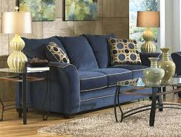 horizon ink stationary sofa in vibrant suede fabric by jackson furniture 3252 03 i