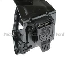 new oem 4 amp 7 pin trailer tow connector 2001 2004 ford f150 image is loading new oem 4 amp 7 pin trailer tow