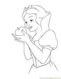 Tell us which one your kid enjoyed coloring the most and shared the colored. Coloring Pages Snow 08 Cartoons Snow White Free Printable Coloring Home