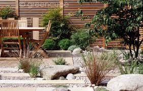Small Picture Plank Paving Boulders and Cobbles in a private garden CED Ltd