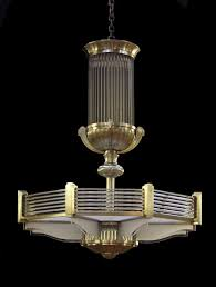 latest art deco chandelier in a style similar to that of atelier petitot throughout art deco