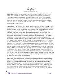 Kindergarten Class Observation Report Kangnuogouwu Com