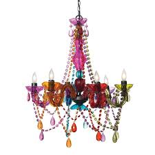 coloredndelier bulbs led colornging gem multi coloured plastic crystals light archived on lighting with post