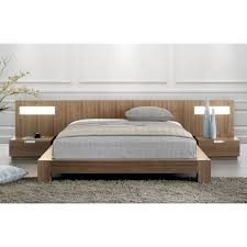 stella bed with wood headboard by mobican additional