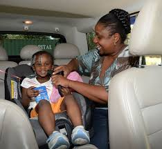 buckle up car seat safety check point