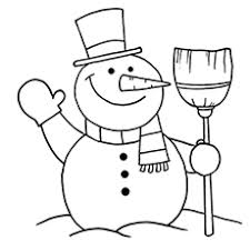 Small Picture coloring page of snowman Coloring Pages Ideas