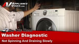 Washer Not Draining Or Spinning Frigidaire Electrolux Washer Diagnostic Not Spinning