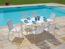 white garden furniture. View Larger Gallery Modern Spaghetti Garden Set In White Finish Furniture R
