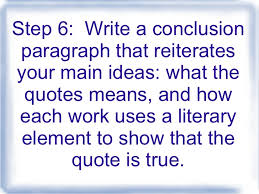 steps to writing the critical lens essay step 6 write