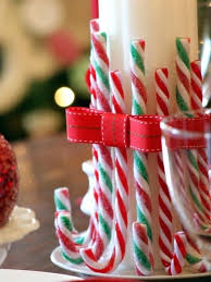 edible candy cane centerpieces party favors easy diy decorations