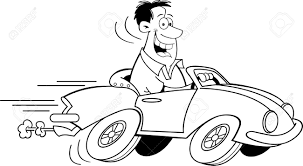 car driving clipart black and white. Perfect Driving Man Driving Car Black And White Clipart 1 With WorldArtsMe