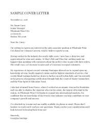 Cover Letter Sample For Supervisor Position Heres An Example Of The Perfect Cover Letter According To