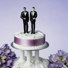 Image result for gay wedding cake
