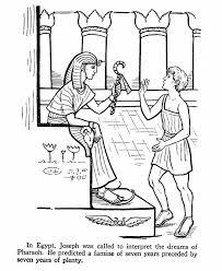 Jozef Moet De Dromen Van De Farao Uitleggen Bijbel Jozef Sunday