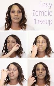how to do easy zombie makeup in 2018 horror costumes zombie makeup and makeup