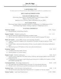Home Tutor Resume Sample Examples Download Math Letsdeliver Co