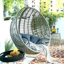 hanging outdoor table rattan chair australia terrace patio wicker egg steel stand porch swing decorating adorable hanging outdoor lounge egg chair