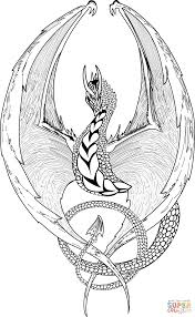 fantasy dragon coloring page free printable coloring pages graphic library