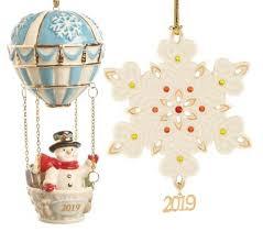 Annual Ornaments Unique Christmas Tree Ornaments Online Lenox Www Lenox Com