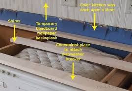 how to mount a dishwasher under granite countertop desert domicile with attaching designs 14