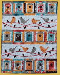 371 best ♥♥Accuquilt Go ideas♥♥ images on Pinterest | Circles ... & Primitive Folk Art Quilt Pattern - Free as a Bird Applique Quilt Pattern on  Etsy, Adamdwight.com