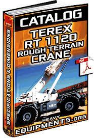 Specalog Terex Rt1120 Rough Terrain Crane Specifications
