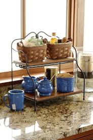 Kitchen Countertop Storage Storage Friendly Accessory Trends For Kitchen Countertops