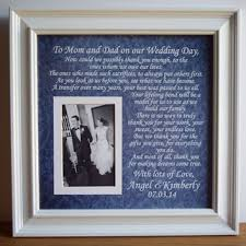 wedding frame gift to parents bride groom from framedaeon on etsy Wedding Gifts For Parents Frames wedding gift parents, parents of bride and groom, thank you mom and dad gift wedding gift for parents picture frame