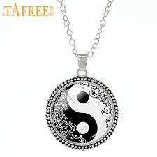 TAFREE Tai figure with pattern around Necklace Sacred Buddhism ...