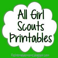Small Picture Girl Scouts Printables cute by level cookie booth thank you