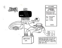 Ceiling fan speed switch wiring diagram within control for wire motor to hunter 4 ac wires