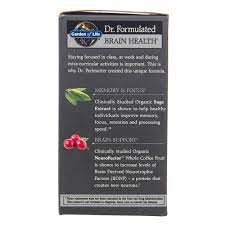 It's actually a seed that comes from coffee fruit. Garden Of Life Dr Formulated Brain Health Memory Focus Young Adults Organic Azure Standard