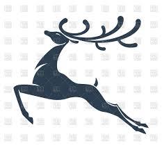 Best Free Reindeer Silhouette Vector Image Free Vector Art