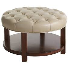 24 Inch Round Table ottomans 24 inch round tray ottoman coffee table tray decorative 6025 by xevi.us