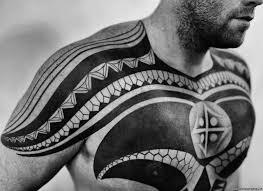 тату в стиле полинезия значение эскизы и фото татуировки в салоне