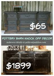 pottery barn knock off furniture. Pottery Barn Knock Off Decor Petticoat Junktion Potterybarn Knockoff Intended Furniture Pinterest