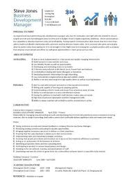 marketing manager resume business development manager cv template managers resume marketing